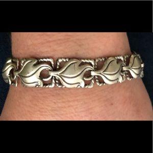Vintage Midcentury Beau Sterling Silver Bracelet